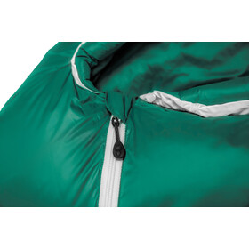Grüezi-Bag Biopod DownWool Subzero 185 Sovepose, petroleumsgrøn